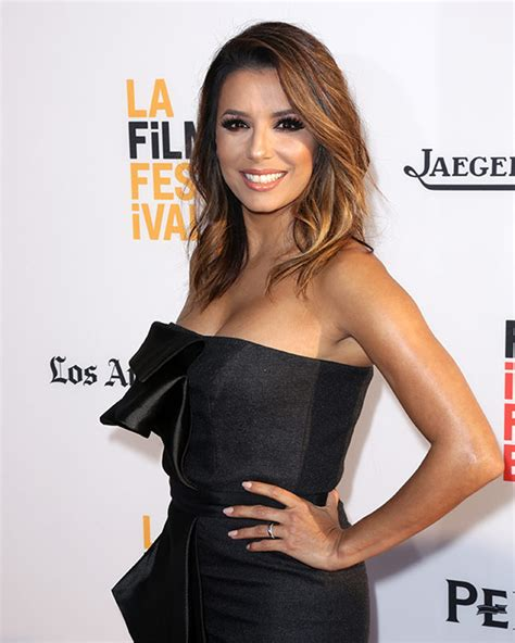 Eva eva longoria is glowing on first red carpet appearance