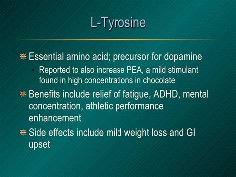worth it how l tyrosine non essential amino acid is changing the world and you probably don t it books l tyrosine essential amino acid precursor