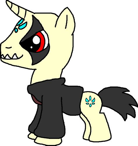 Kaos Black Magic kaos pony by blackrhinoranger on deviantart