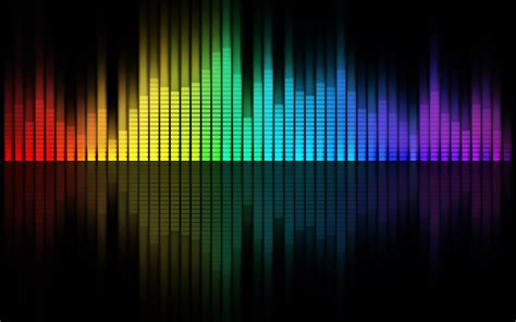 colorful reflection vector art waveforms wallpapers hd