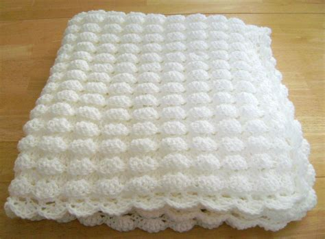 crochet pattern free uk shell stitch baby blanket ideas home inspirations design