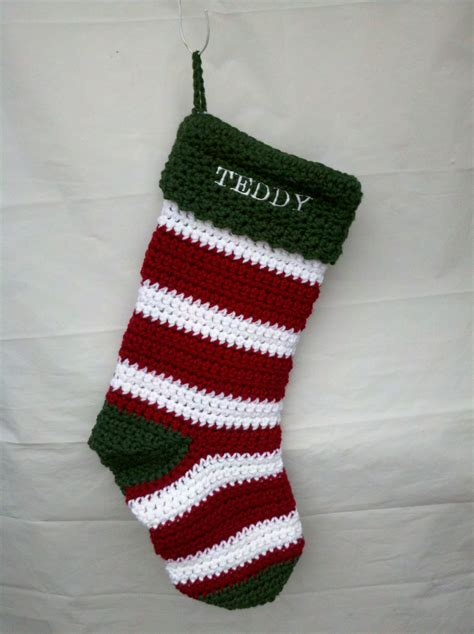 pattern stockings christmas 40 all free crochet christmas stocking patterns patterns hub