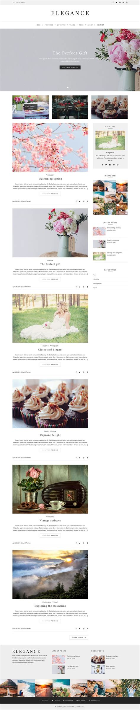 Theme Ref Blog | 791 best images about wordpress blog and magazine themes