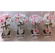 Flores Artificiais De Centro 150x150 Arranjo