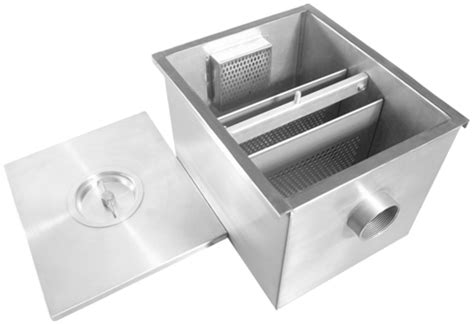 Greasetrap Stainless a stainless steel grease trap will never rust or leak a