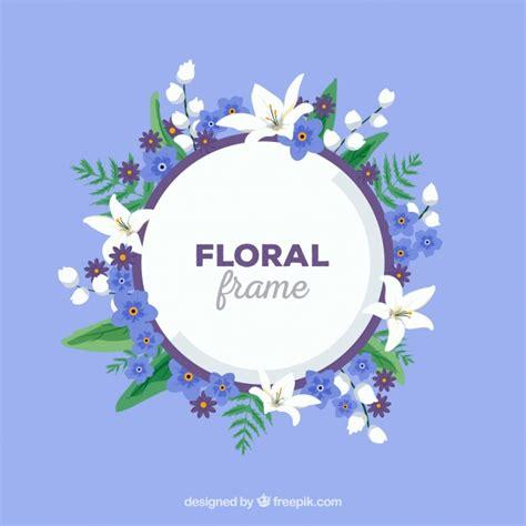 cornici floreali gratis cornici floreali decorative scaricare vettori gratis