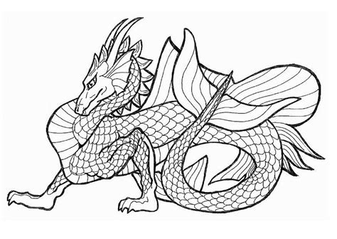 sea dragons coloring pages coloring page sea dragon img 11045