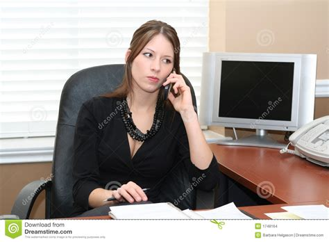 office assistant stock images image 1748164