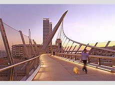 Harbor Drive Pedestrian Bridge | Safdie Rabines Architects Illuminating