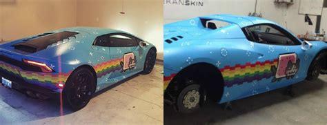 Deadmau5 Lamborghini Deadmau5 Wraps Lamborghini Huracan In Nyan Cat Trolls