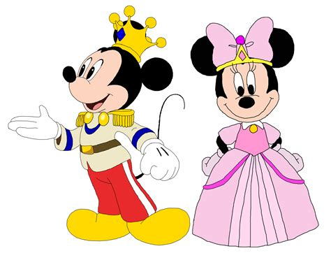 Mickey Minie prince mickey and princess minnie minnie rella mickey