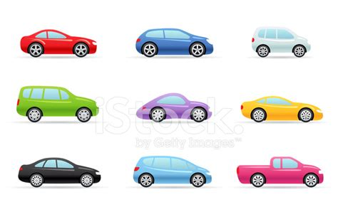 car colors color icons cars stock vector freeimages