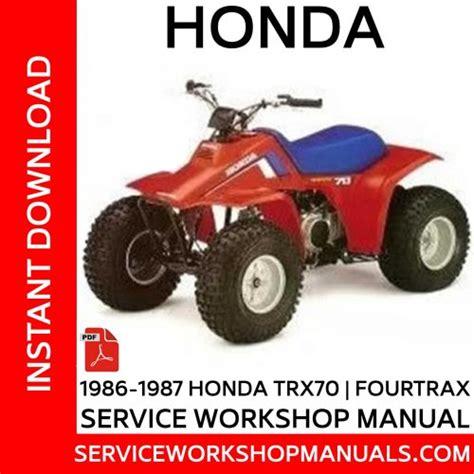 honda trxex   service workshop manual service