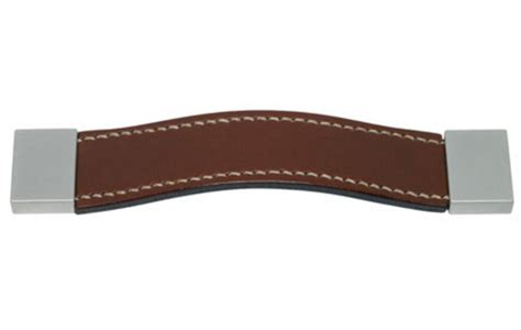 leather drawer pulls uk stitched leather strap handle 125 mm leather cabinet
