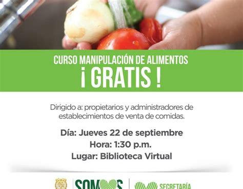 curso gratuito de manipulacion de alimentos bucaramangacom