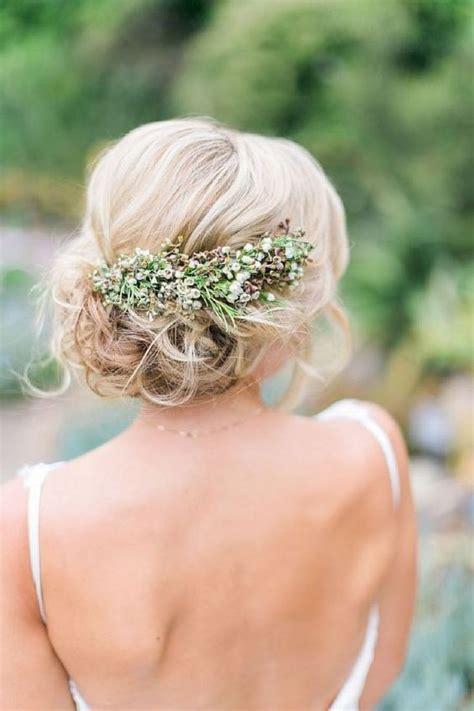 Simple Yet Beautiful Blooms by 30 Id 233 Es De Coiffures Sublimes Pour Votre Mariage Les