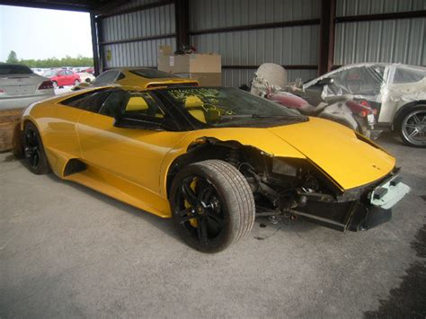 Lamborghini Crashed For Sale Salvage Lamborghini All Models 6 5l 12 2008 Houston Tx