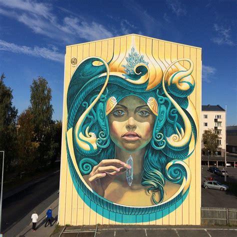 street art murals  drive  wild streets