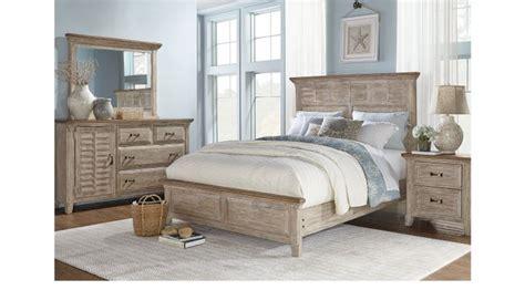 nantucket breeze white 5 pc queen panel bedroom