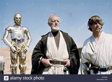 anthony daniels star wars a new hope alec guinness as ben obi wan kenobi film title star wars