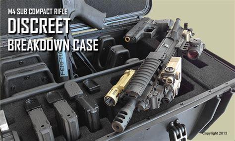 discreet weapons discreet breakdown rifle casecruzer