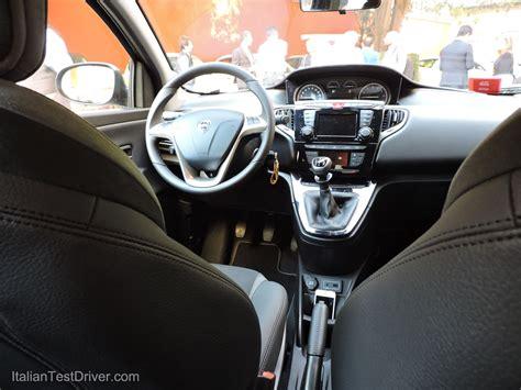 nuova lancia y interni test drive nuova lancia ypsilon italiantestdriver