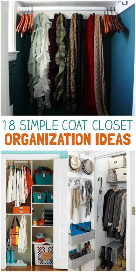 closet organization tips and tricks great ideas for home 18 coat closet organization tricks for busy families the