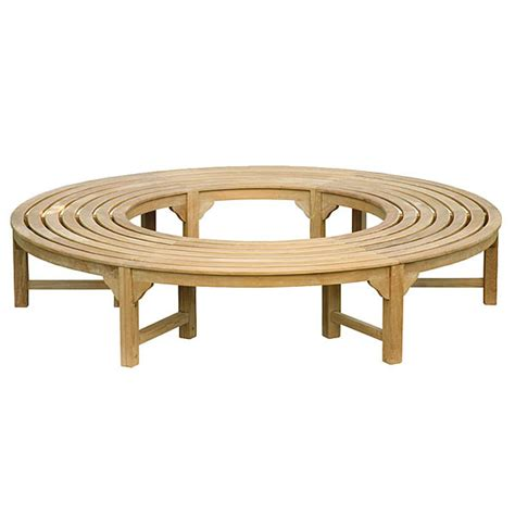 round benches teak benches old bench round bench treenovation