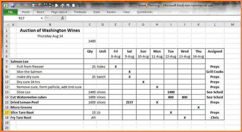 8 catering spreadsheet excel spreadsheets group