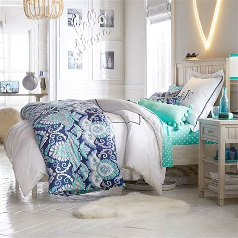 bloombety fancy cool room ideas for teenage girls cool beadboard basic bed set pbteen