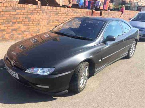 peugeot 406 coupe black peugeot 2003 406 coupe hdi black car for sale