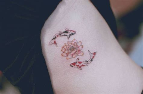 girly koi fish tattoo designs 99 girly tattoos to consider for 2017 koi fish