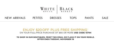 printable white house black market coupons white house black market 20 off 80 printable coupon