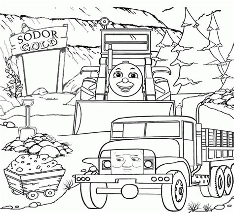 thomas coloring page pdf thomas coloring pages thomas and friends sodor gold