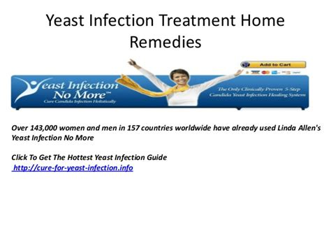 yeast infection treatment home remedies