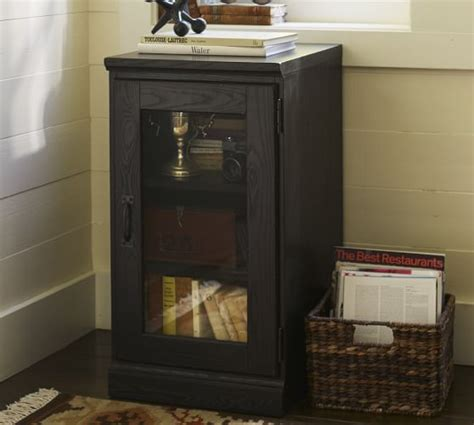 printer cabinet with doors printer s single glass door cabinet pottery barn
