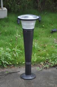 industrial solar lighting greenshine new energy solar bollard light sll40 solar