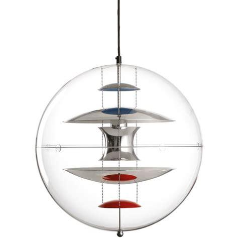 Dining Room Ceiling Light Verpan Panton Vp Globe Acrylic By Verner Panton Danish