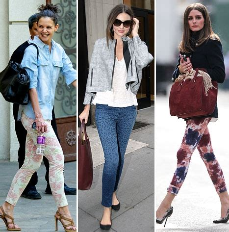 patterned jeans trend printed jeans trending makeyourownjeans