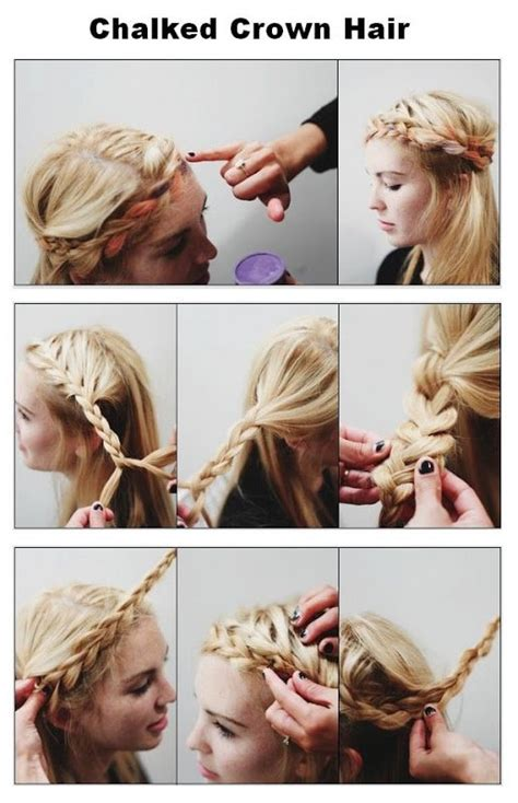 Diy Braided Hairstyles by Do It Yourself Trendy Braided Hairstyle