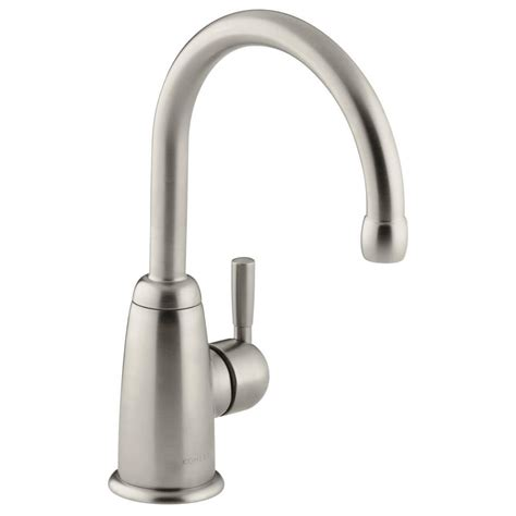 kohler wellspring single handle kitchen faucet in oil kohler wellspring single handle bar faucet with