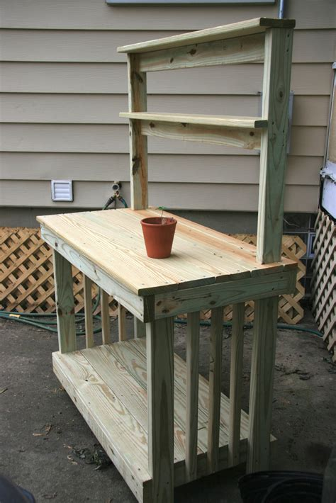potting bench design potting bench