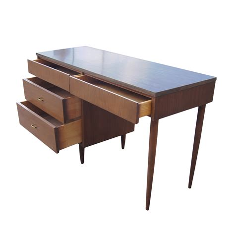 vintage mid century modern desk price reduced ebay
