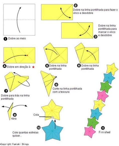 tutorial origami natal origamis f 225 ceis