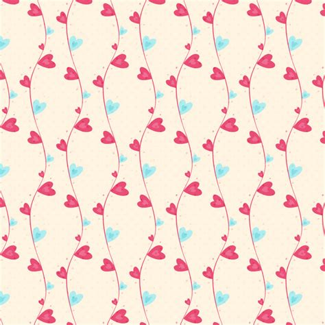 heart pattern pink pink heart pattern background free vector in adobe
