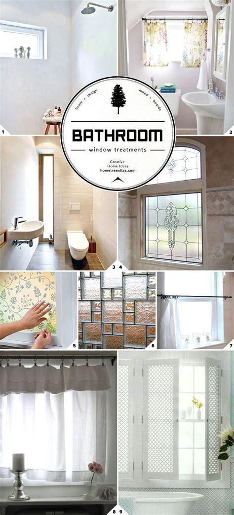 bathroom window privacy ideas best 25 bathroom window treatments ideas on pinterest