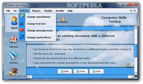 computer skills testing