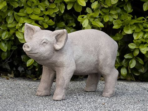 Pig Garden Statue by Haluchs Landscaping Products Statuary