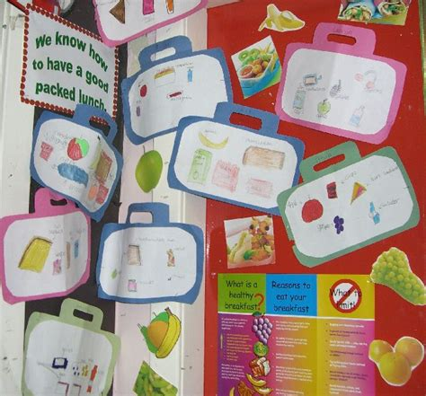 healthy packed lunches classroom display photo photo gallery sparklebox healthy habits