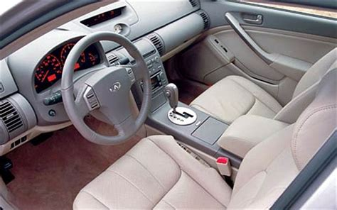 2003 Infiniti G35 Coupe Interior by 2003 Car Of The Year Winner 2003 Infiniti G35 Truck Trend